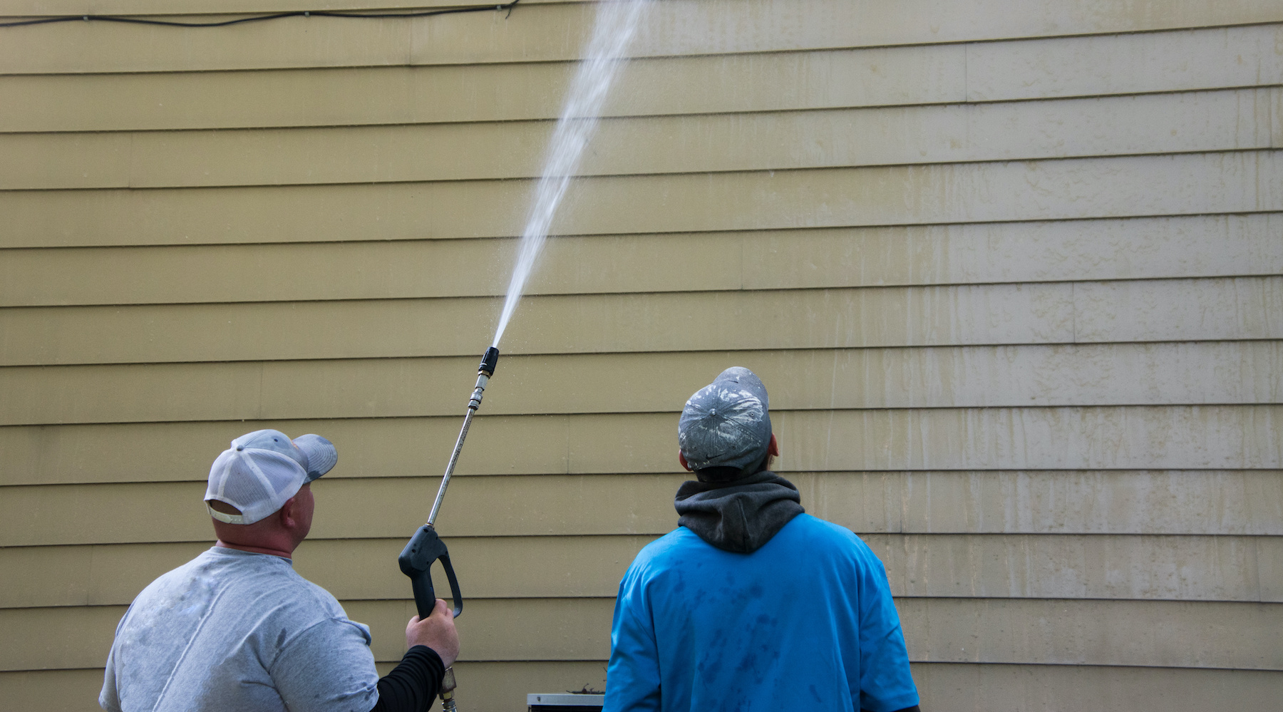 House Washing Franklin Pair