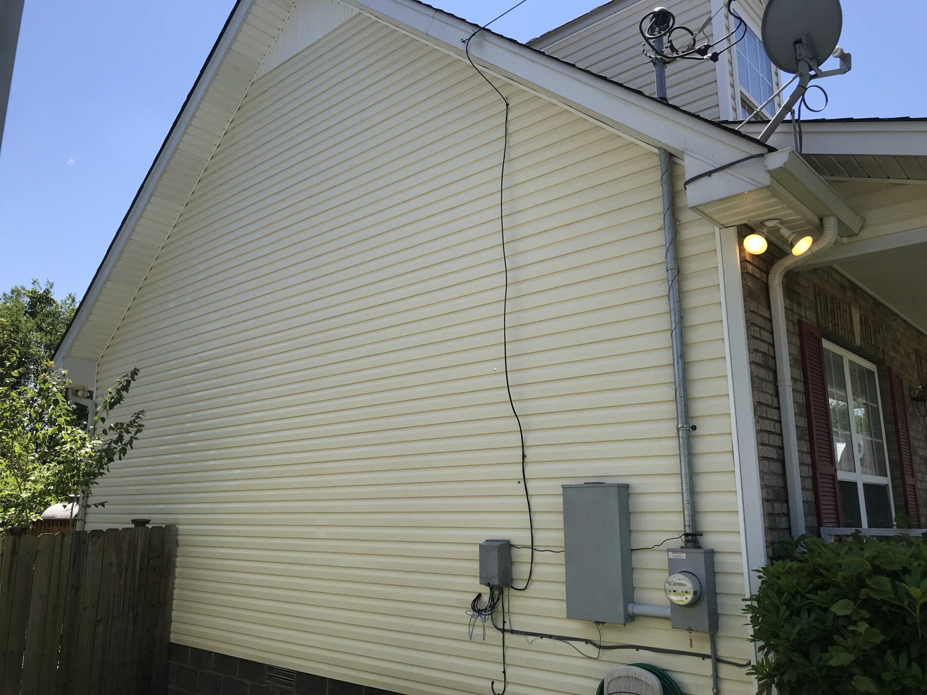 house washing Nashville tn